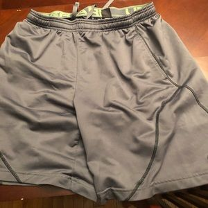 2 Pairs of Men's Under Armour Shorts Grey